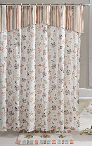 Colordrift Aruba Shower Curtain One Size