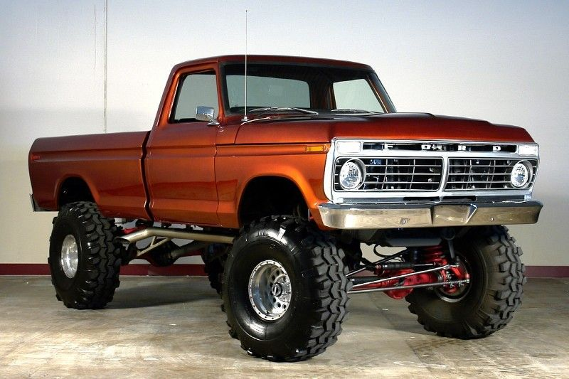 77 Ford 4x4 With Over 90 Different Classic Trucks Http