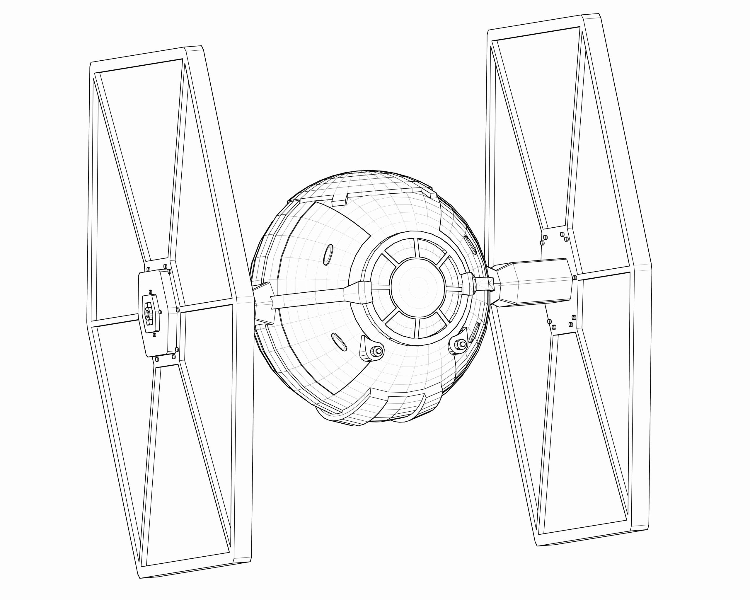Tie Fighter Coloring Page Awesome Tie Fighter Drawing Tie Fighter
