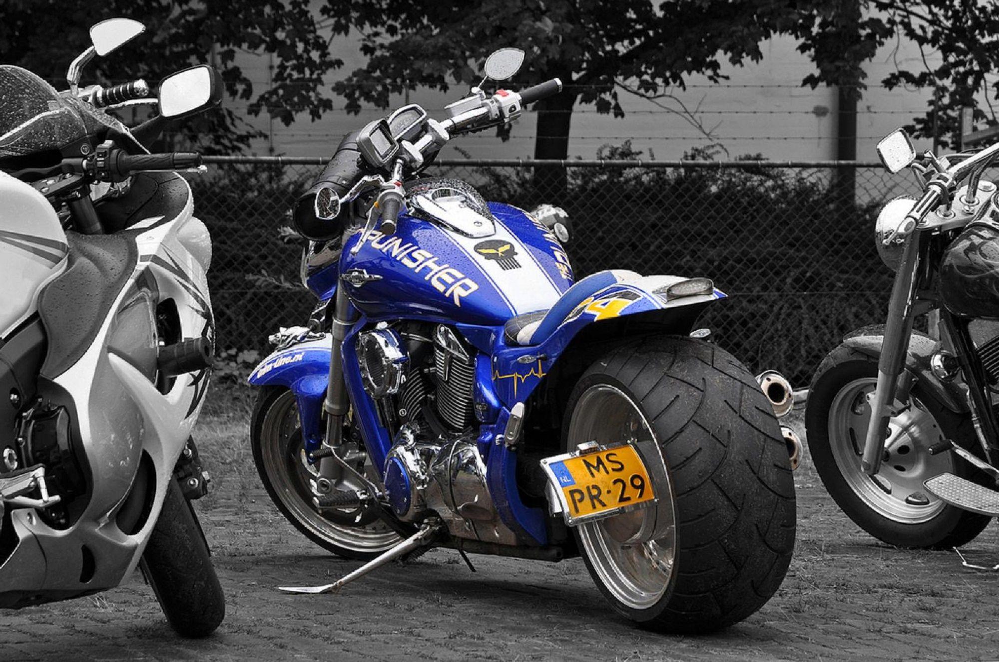 Suzuki Boulevard Mr Custom Paint Blue