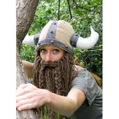 Bearded Viking Helmet
