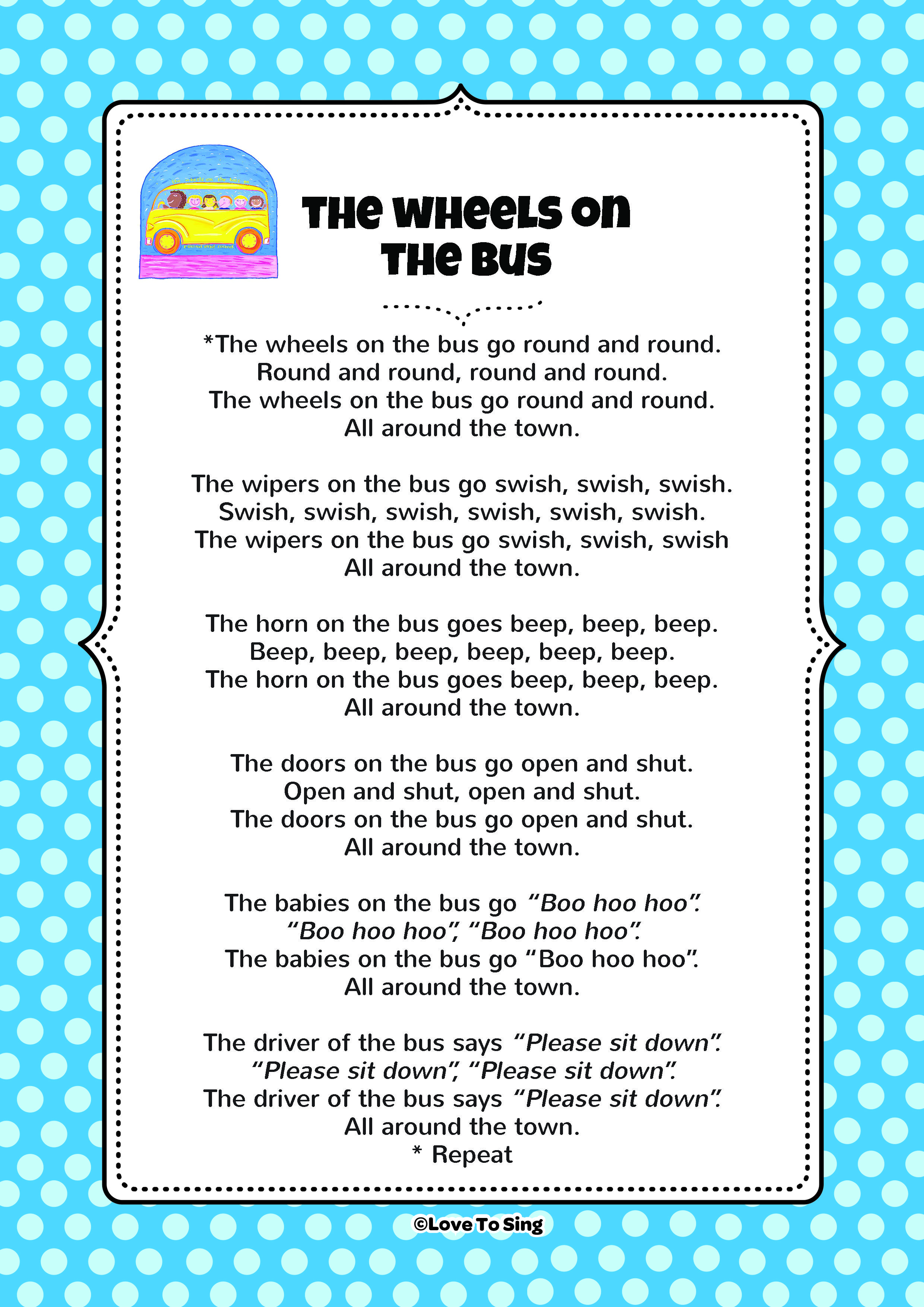 I chose this because this nursery rhyme has a lot of ...