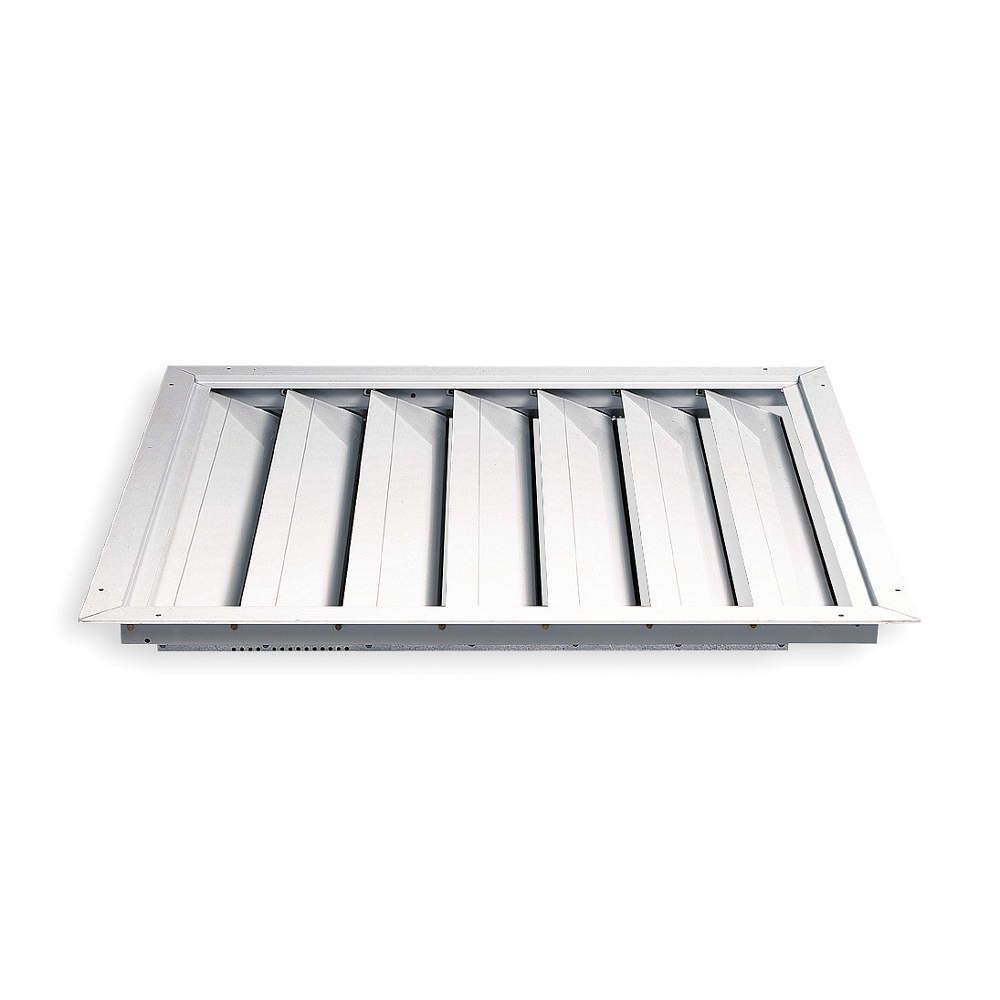 Wp5704425 Whole House Fan Premium Ceiling Shutter Grainger Supply