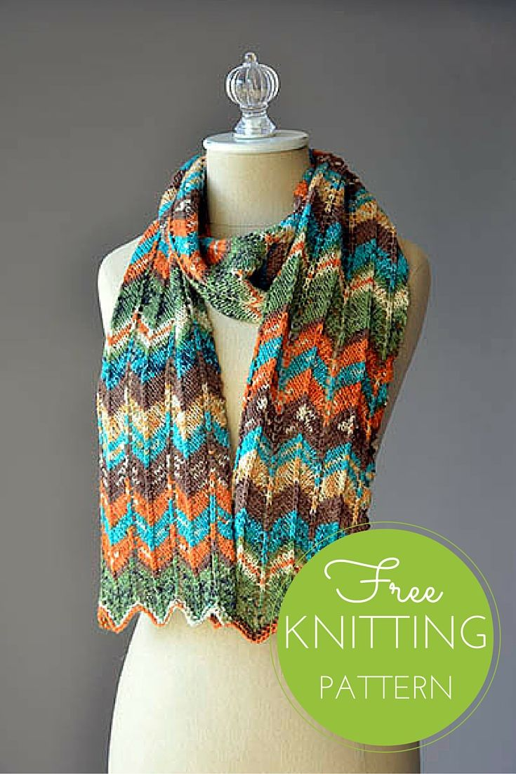 Happy Magic Scarf Free Knitting Pattern | Knit patterns, Scarves and ...
