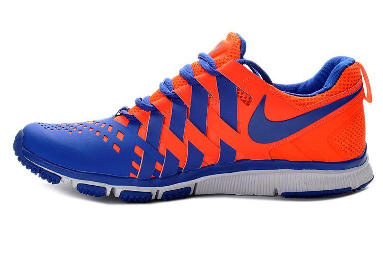 Nike Mens Orange Blue Free Trainer 5.0