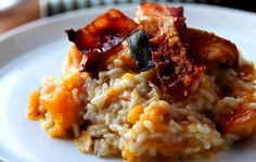 Wow your dinner guests this fall with this delicious pumpkin risotto recipe.