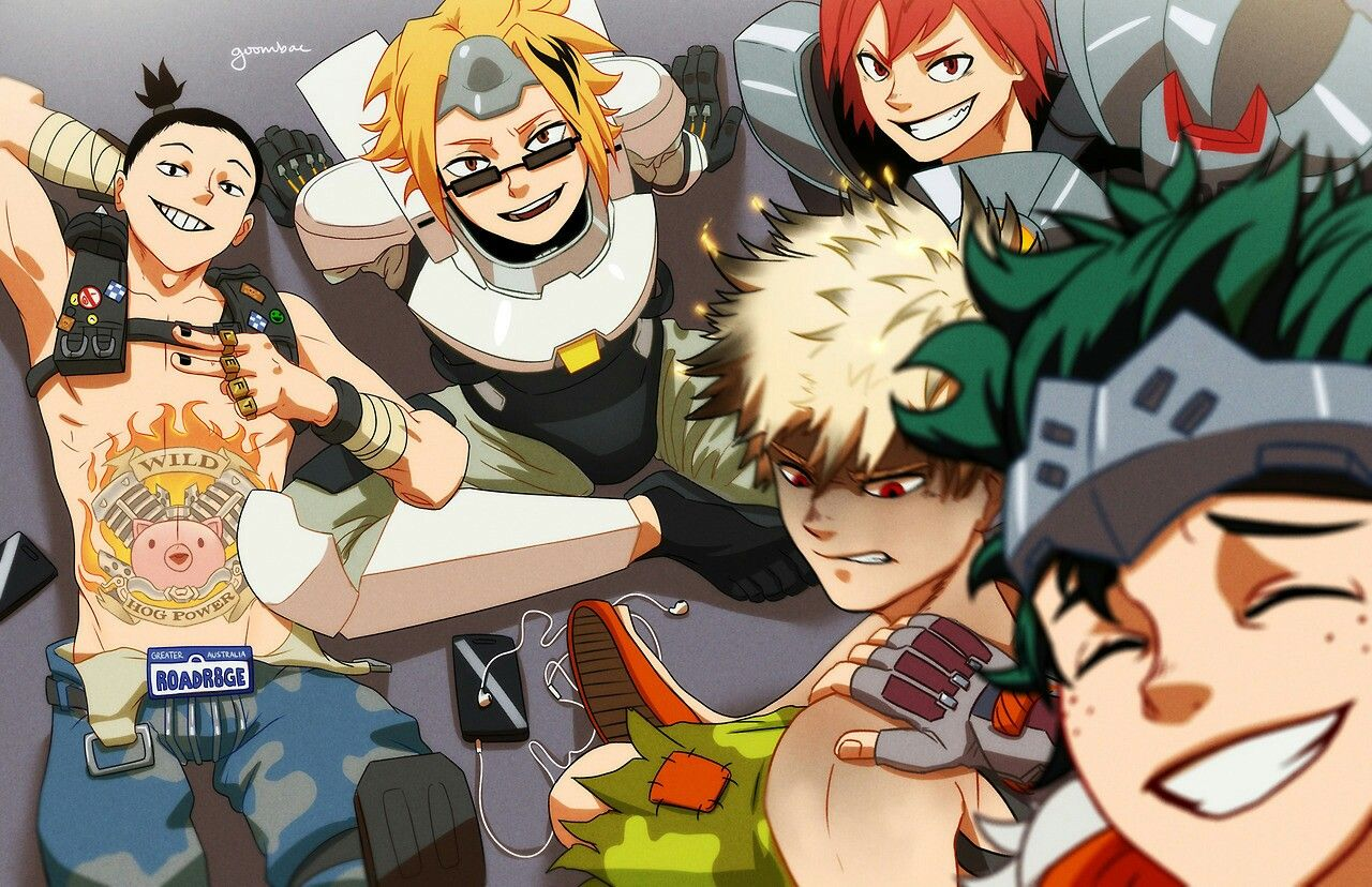 Boku No Hero Academia X Overwatch Mha My Hero Anime Crossover Hero