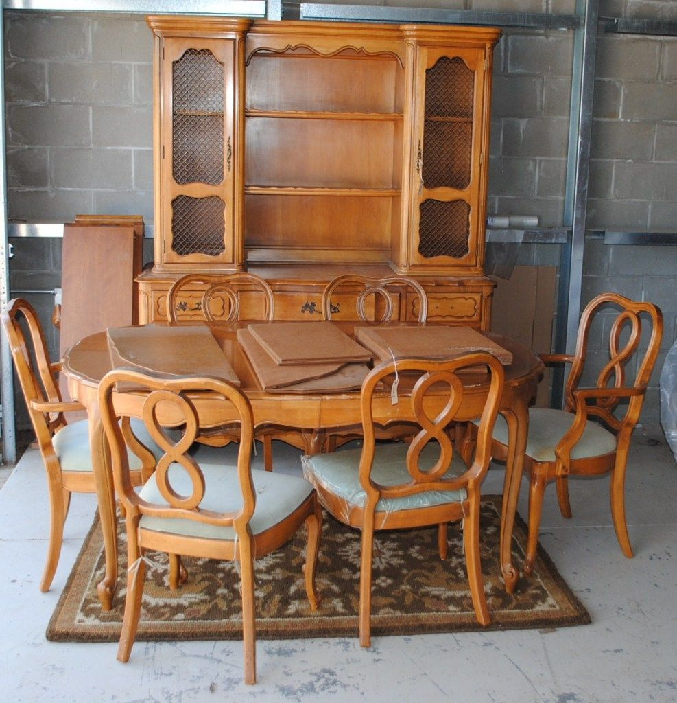 Room Antique French Provincial Dining Chairs