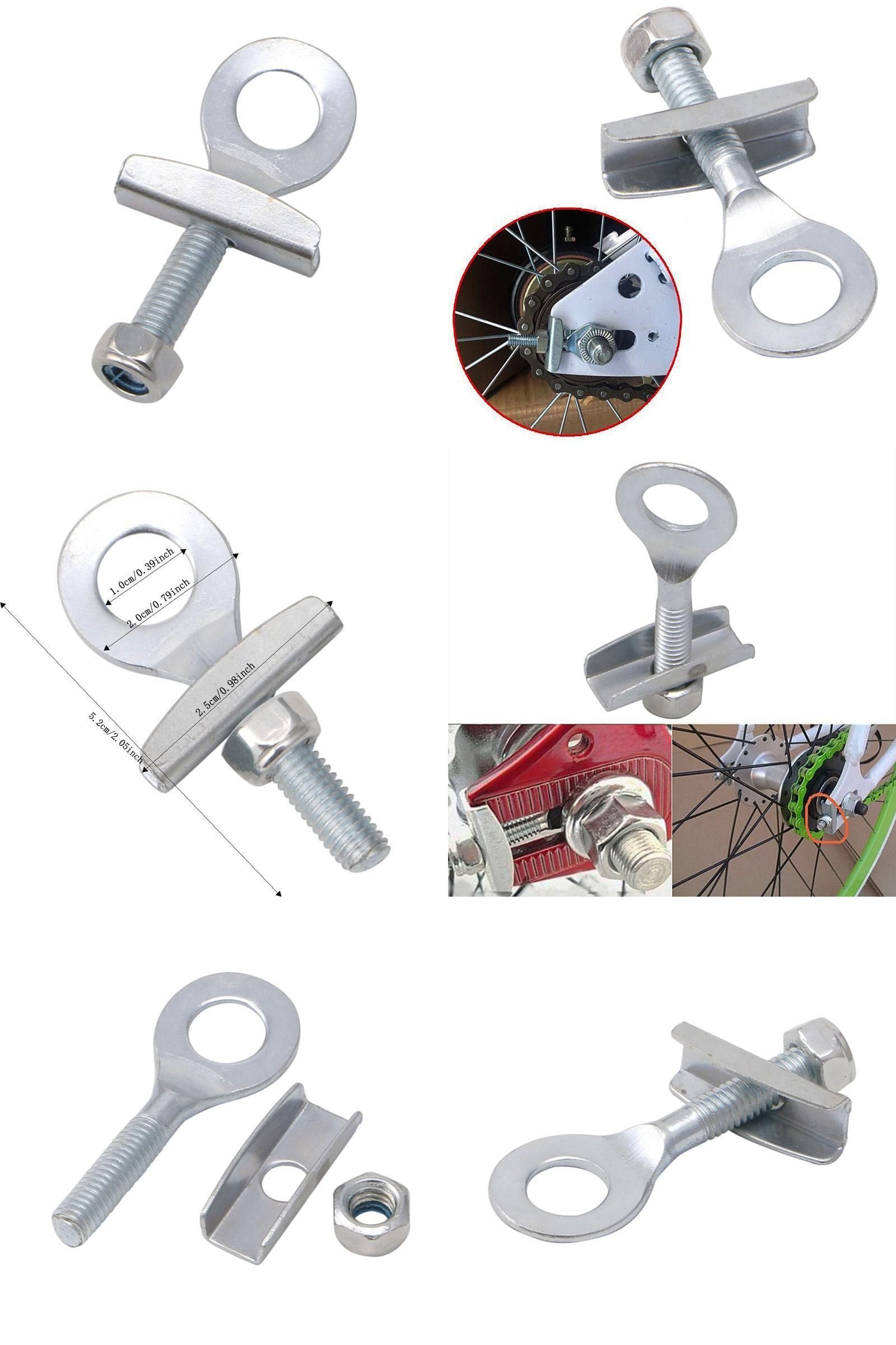 New Back Chain Tensioner Adjuster BMX Fixed Gear Single Speed Bike Track Bicycl