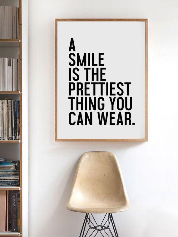 ''um sorriso é a coisa mais bonita que você pode usar''
