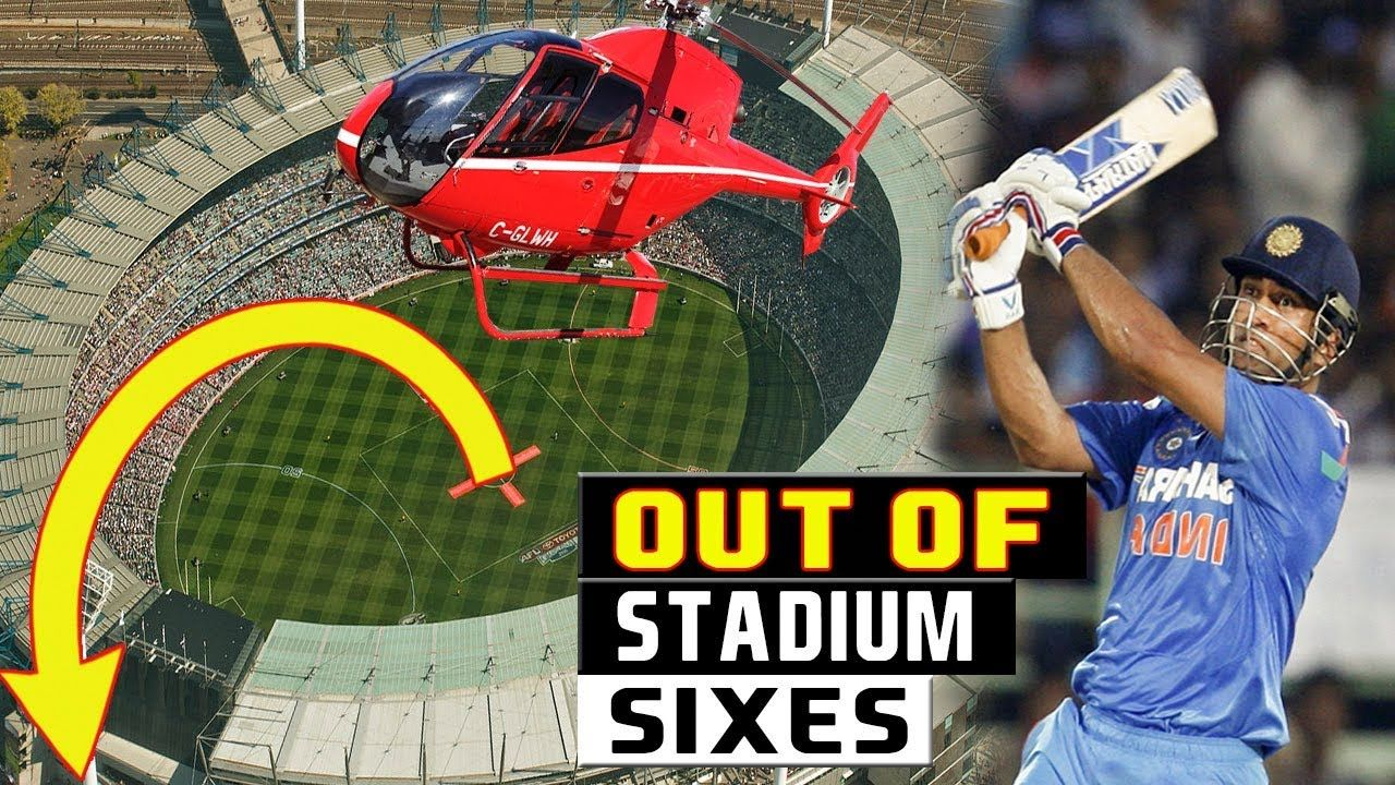 Top 10 Biggest Sixes in Cricket History Out Of