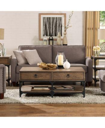Crosley Trenton Coffee Table Amp Reviews Furniture Macy