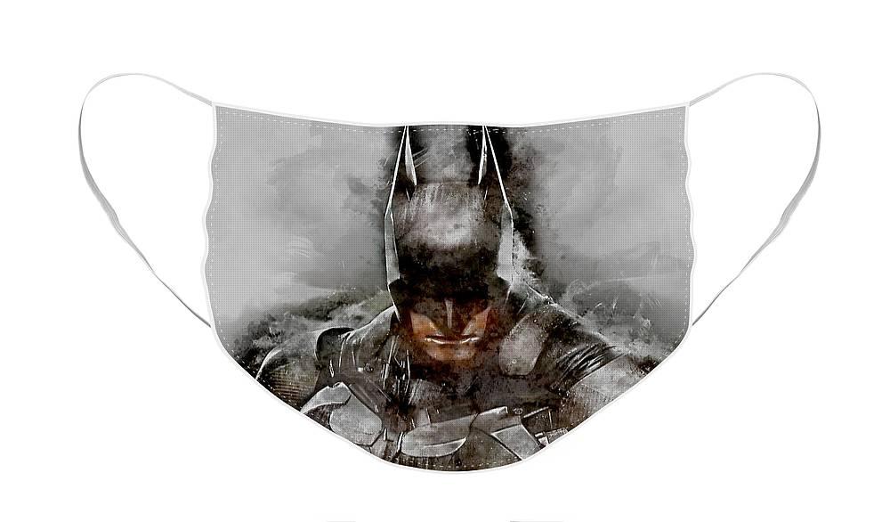 Batman Face Mask For Sale By Marvin Blaine Face Mask Batman Masks For Sale