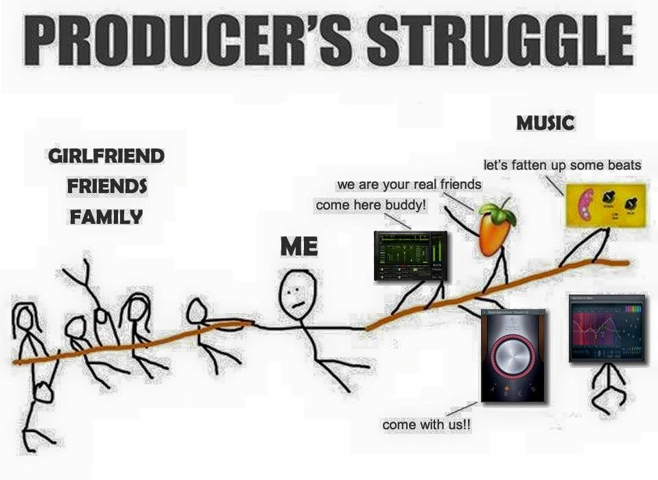 Producers Struggles Producer Memes #SoundOracle www soundoracle net