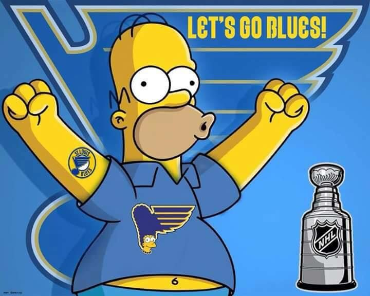 Well-known Homer Simpson: Let's Go Blues | Blues | Pinterest | Homer simpson  XK79