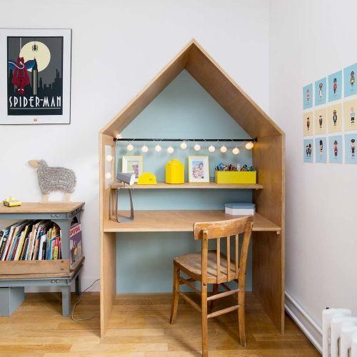 Bureau cabane en 2019 kids agencement chambre enfant bureau enfant et mobilier enfant - Agencement chambre enfant ...