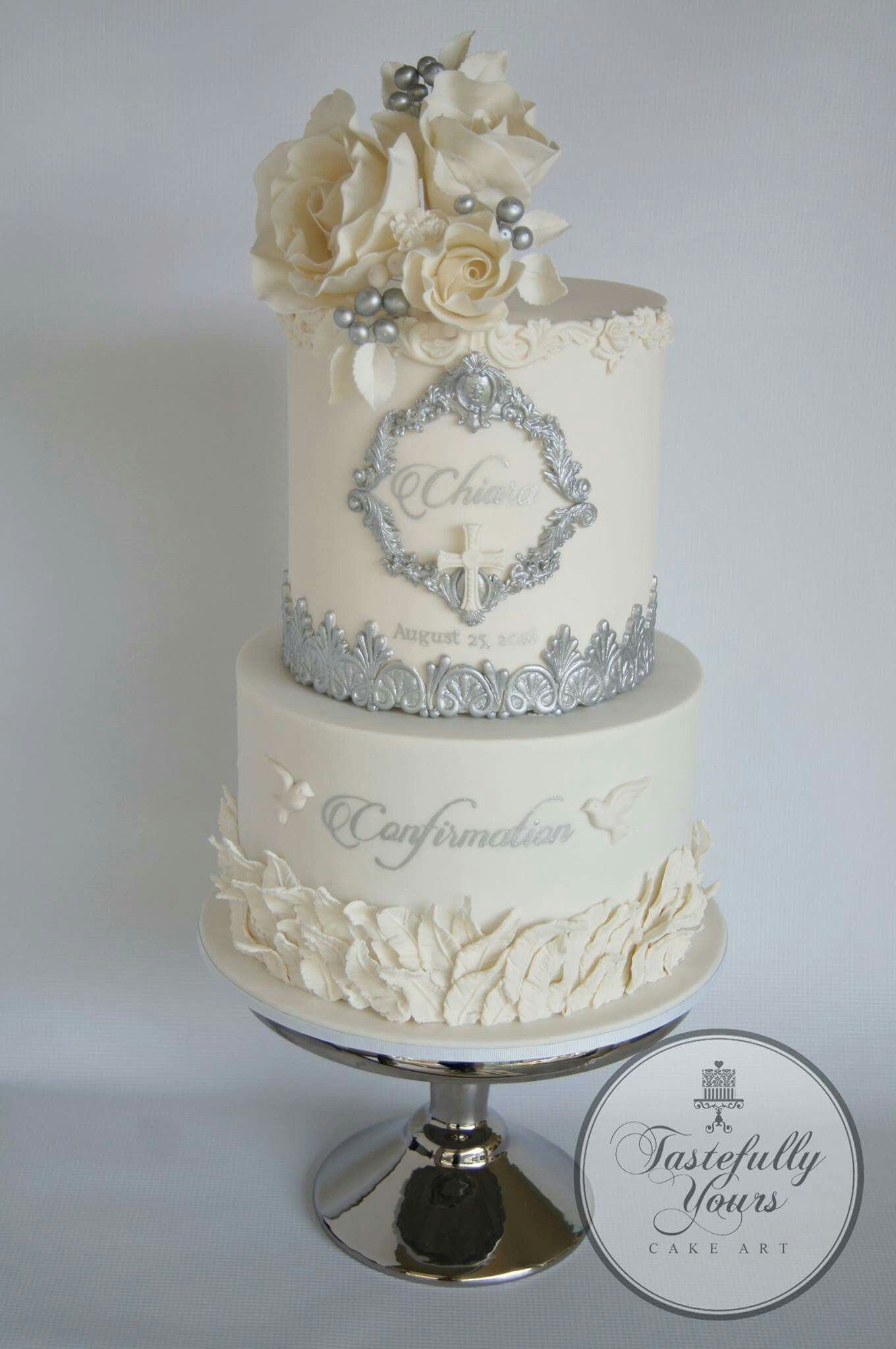 Pin by Yessy Cost on Solo pasteles!!! | Pinterest | Christening ...
