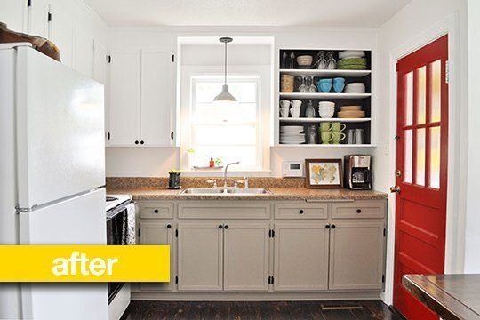 remodeled kitchen on a budget