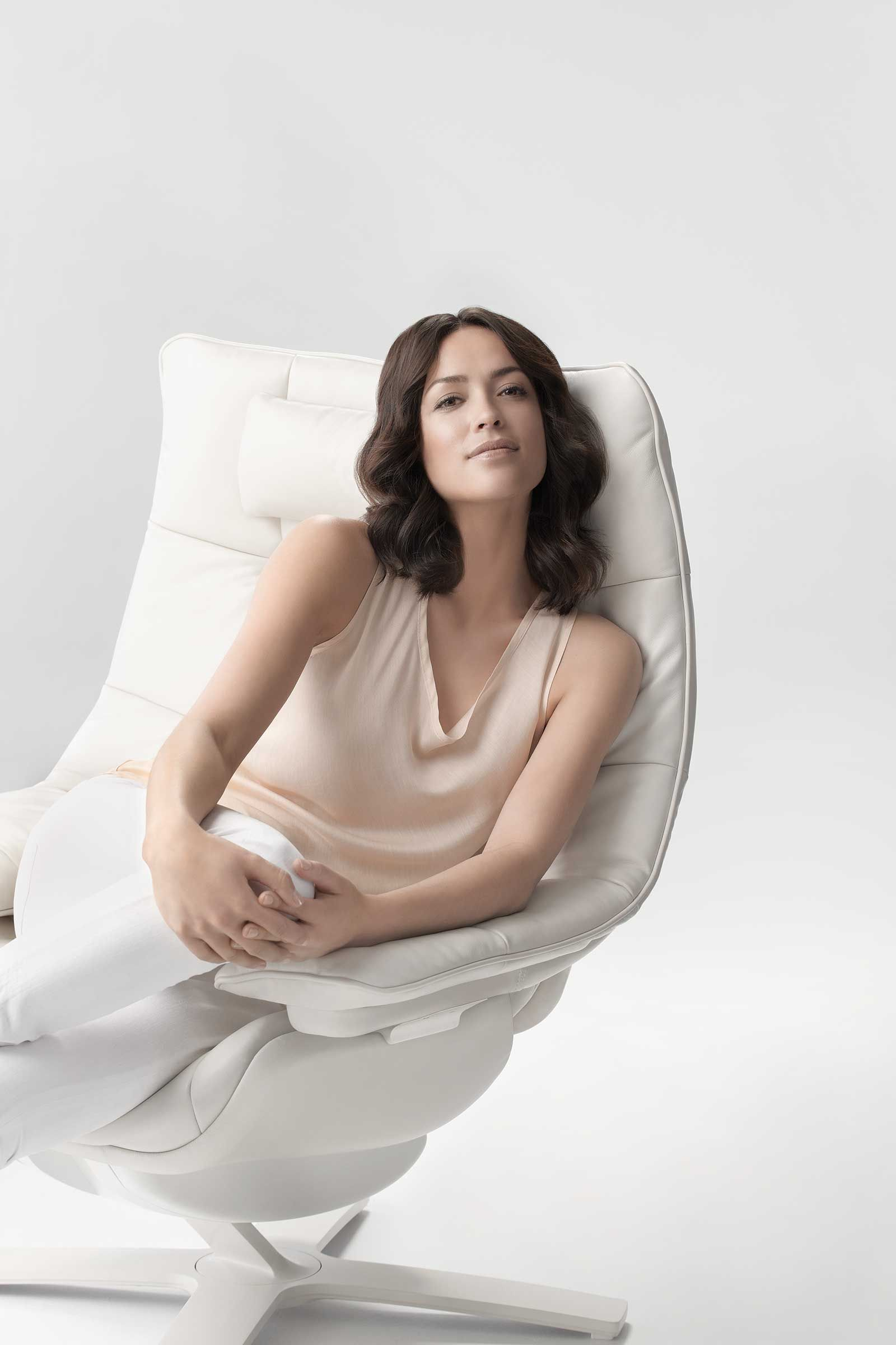 The human body is designed to move Natuzzi Revive moves as you