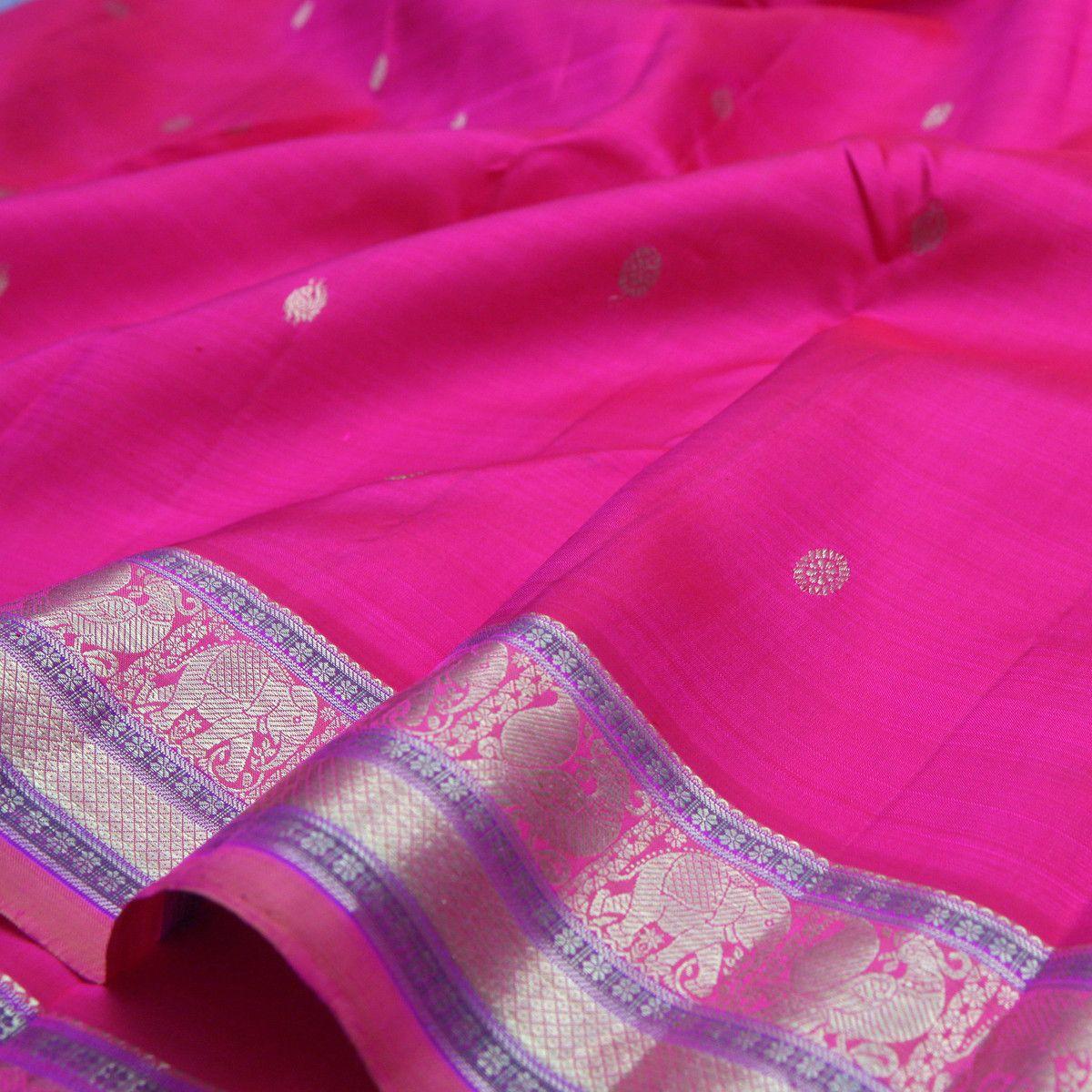Sarangi Handwoven Soft Silk Sari -720127380