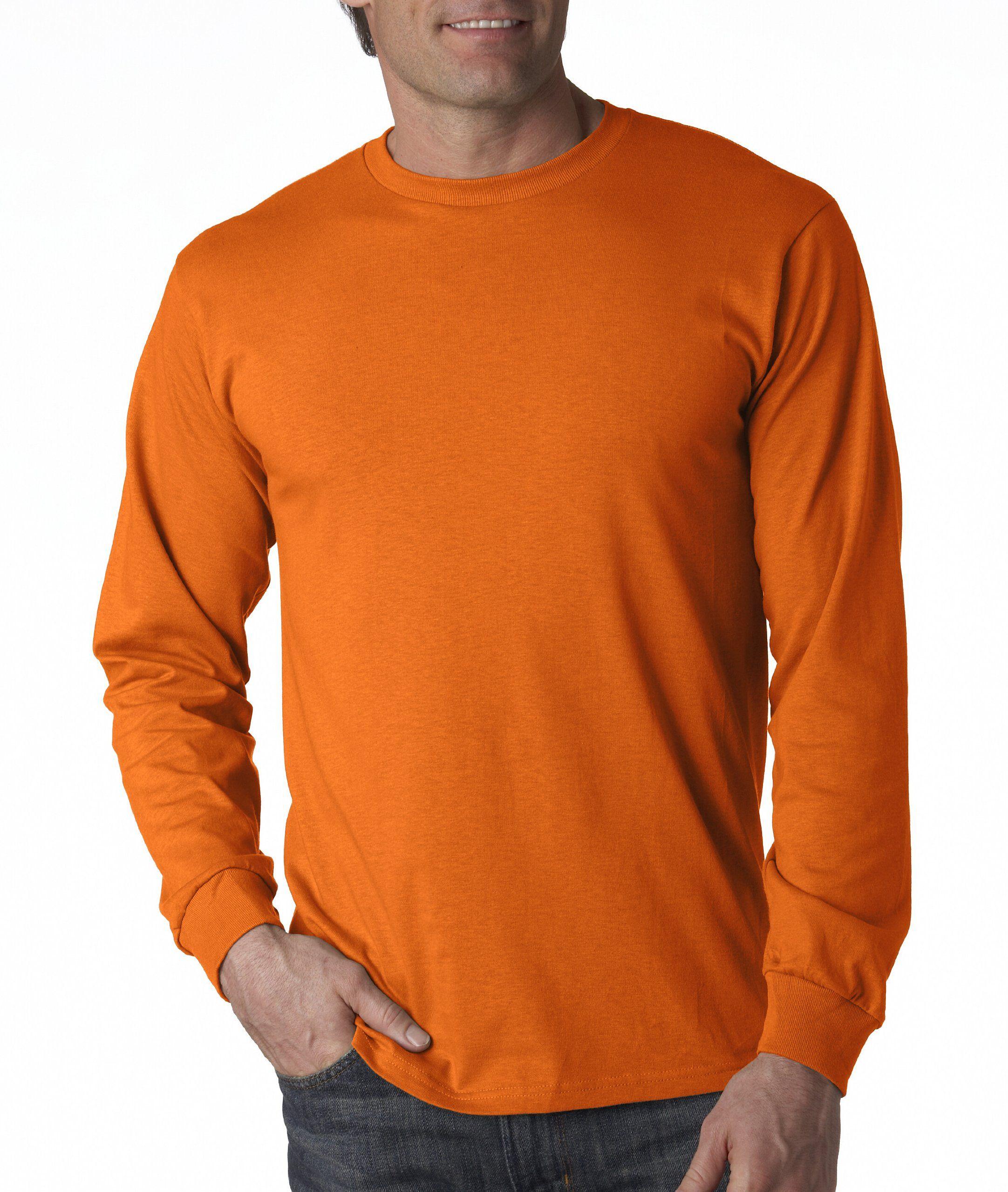 Fruit of the loom oz heavy cotton hd longsleeve tshirt