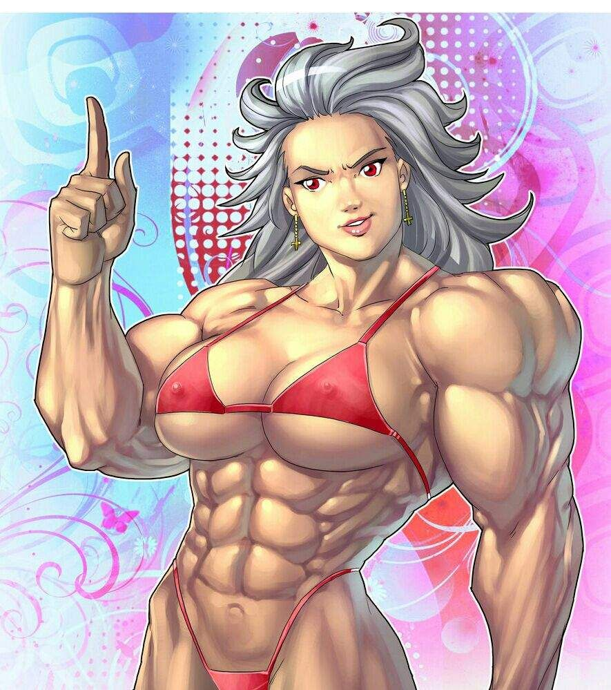 anime muscle girl | anime amino | muscle | muscle, muscle girls