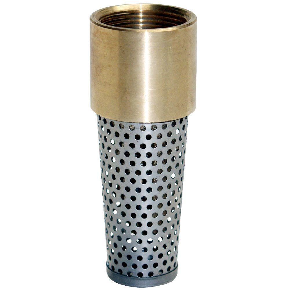 Water Source 2 in. Brass Foot ValveTFV200NL Sprinkler