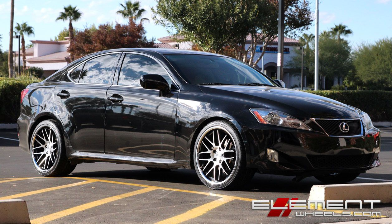 Lexus Is250 With Roderick Wheels By Element In Chandler Az Click To View More