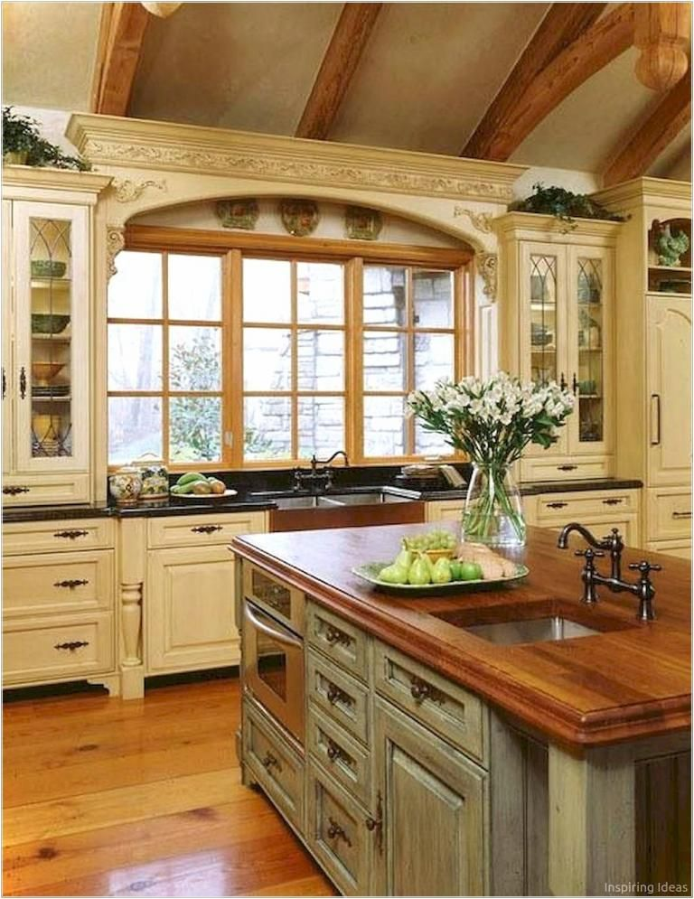 Awesome Cottage Kitchen Cabinets Ideas Country Style Country Kitchen Farmhouse Farmhouse Kitchen Design Country Style Kitchen
