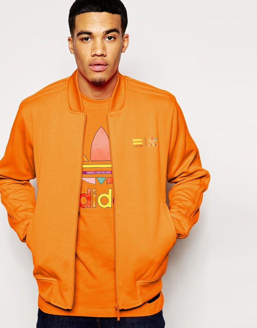 Adidas Originals X Pharrell Williams Supercolour Bright Orange At Asos Com Pharrell Williams Adidas Originals Moletons [ 1110 x 870 Pixel ]