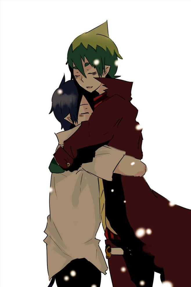 Rin X Amaimon I ship it sooo hard!!!