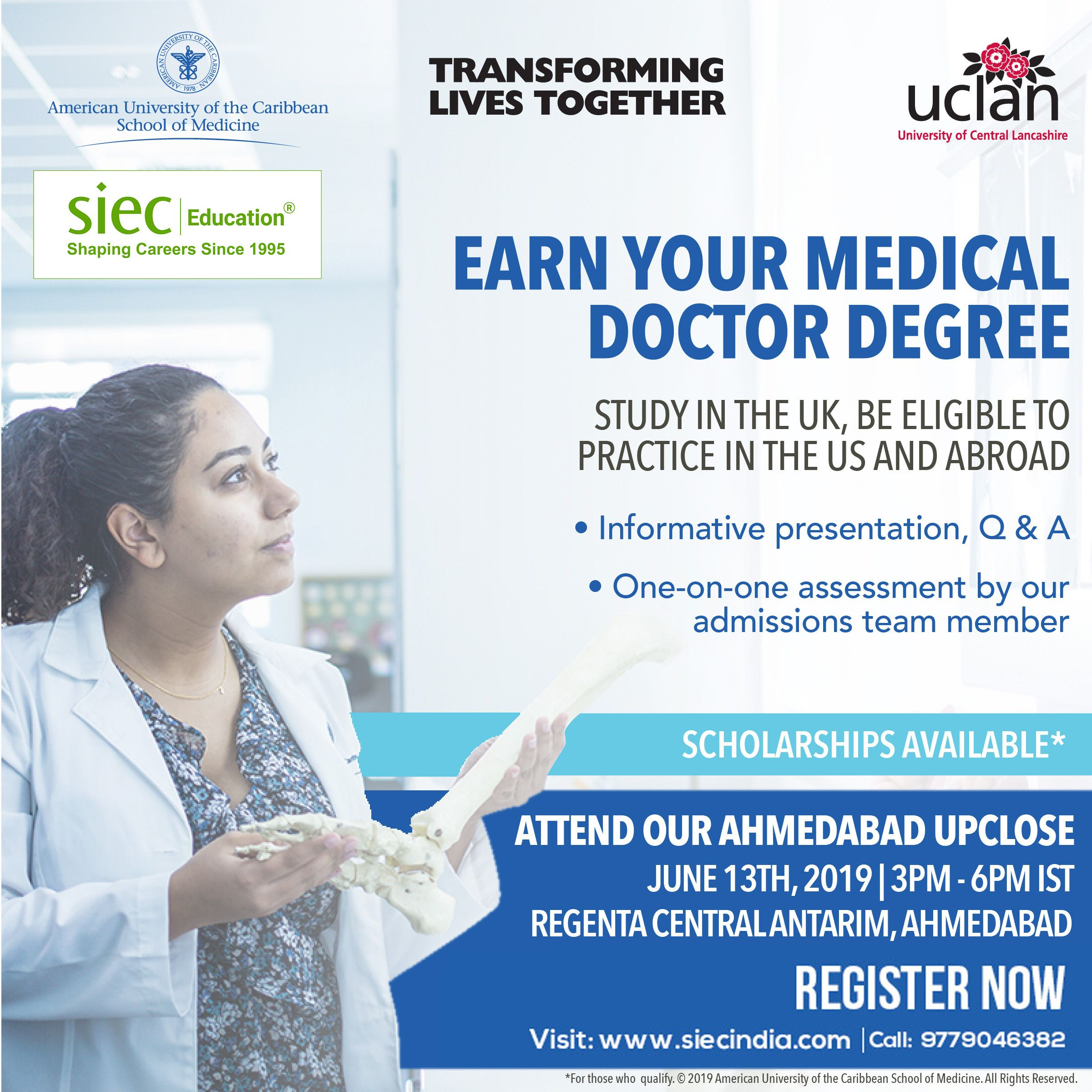 Earn Your Medical Doctor Degree  Study in the UK, Be