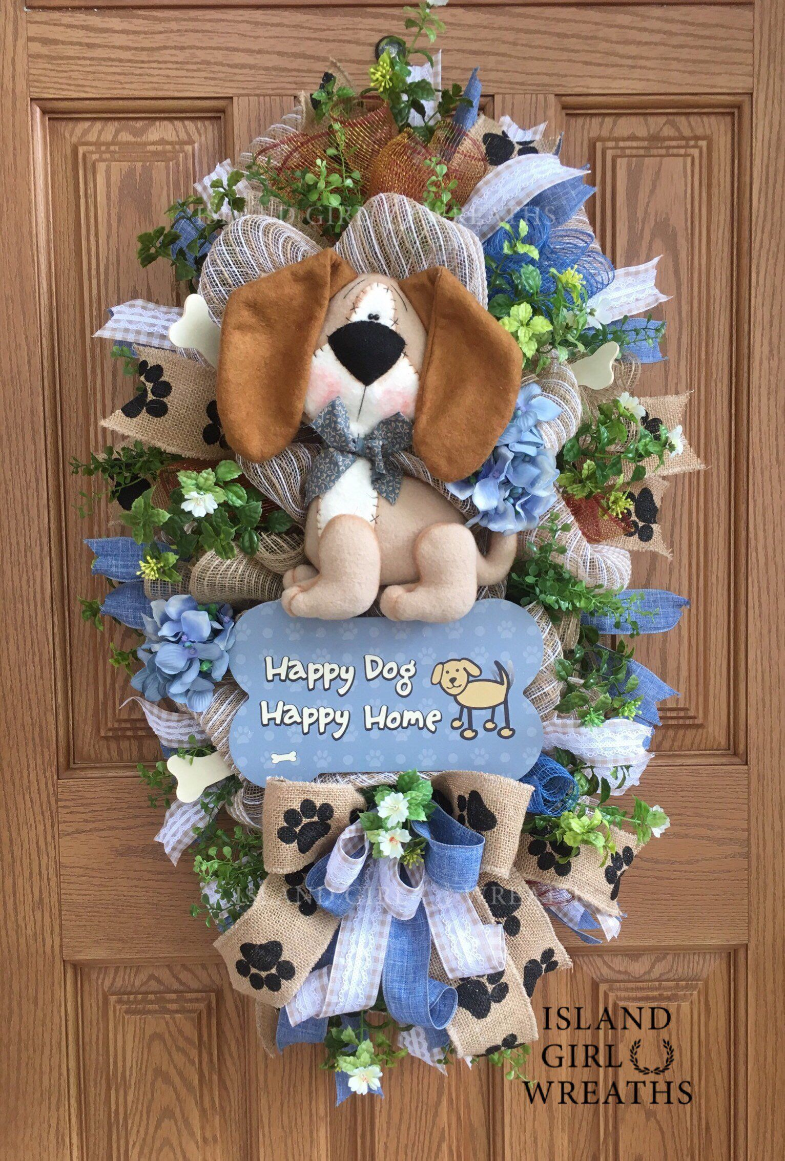 #everyday #wreaths #excited #lovers #burlap #wreath #share #happy #front #etsy #home #gift #swag #mesh #doorExcited to share this item from my shop: Dog Wreath, Dog Wreath For Front Door, Burlap Dog Wreath, Dog Swag, Everyday Wreaths, Dog Lovers Gift, Happy Dog Happy Home, Dog Mesh Wreath