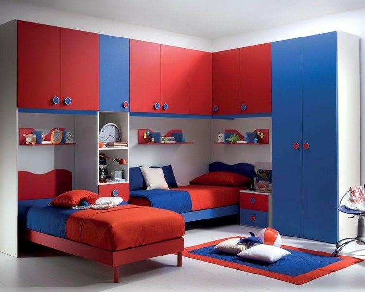 Juego de cuartos cocibela mi i pinterest juegos de - Habitaciones infantiles azules ...