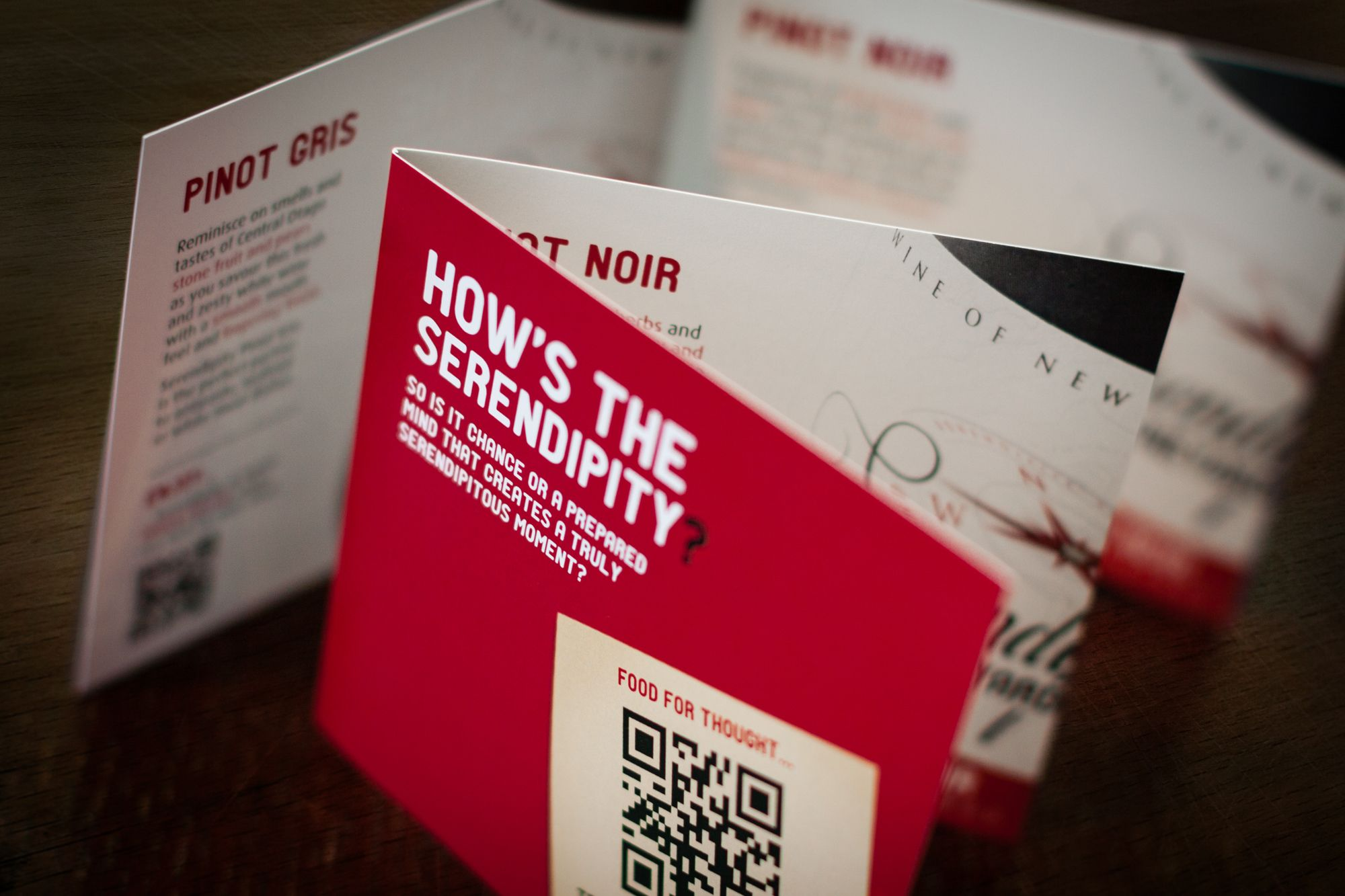 Table talker promotion card | CREATIVE - Advertising ...