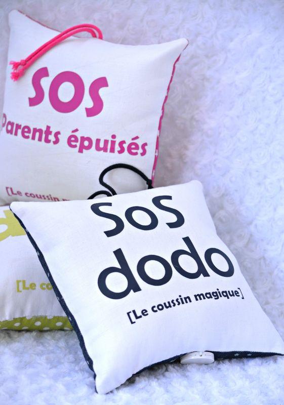 coussin sos dodo pour bébé