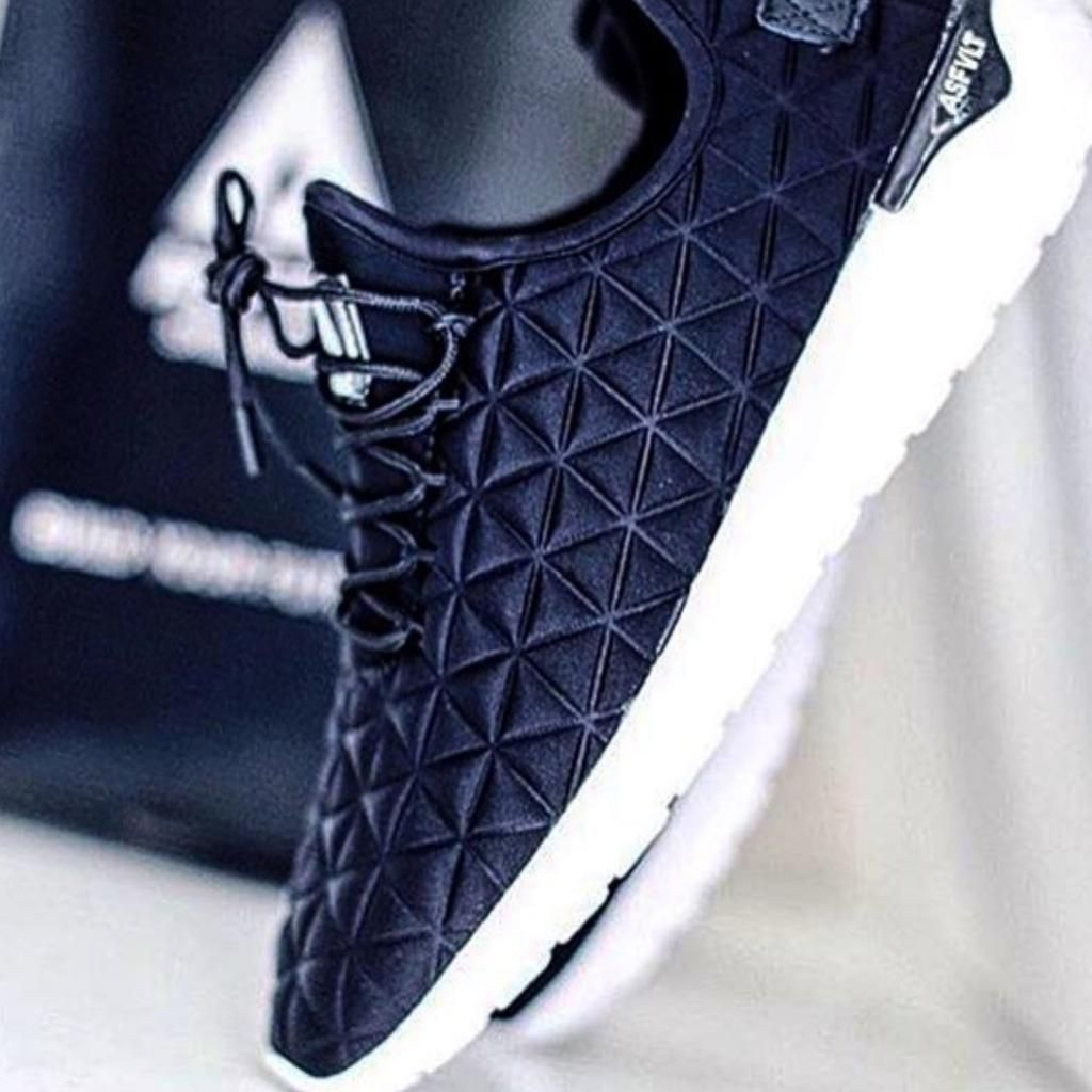 ASFVLT - Sneakers Speed Socks Black
