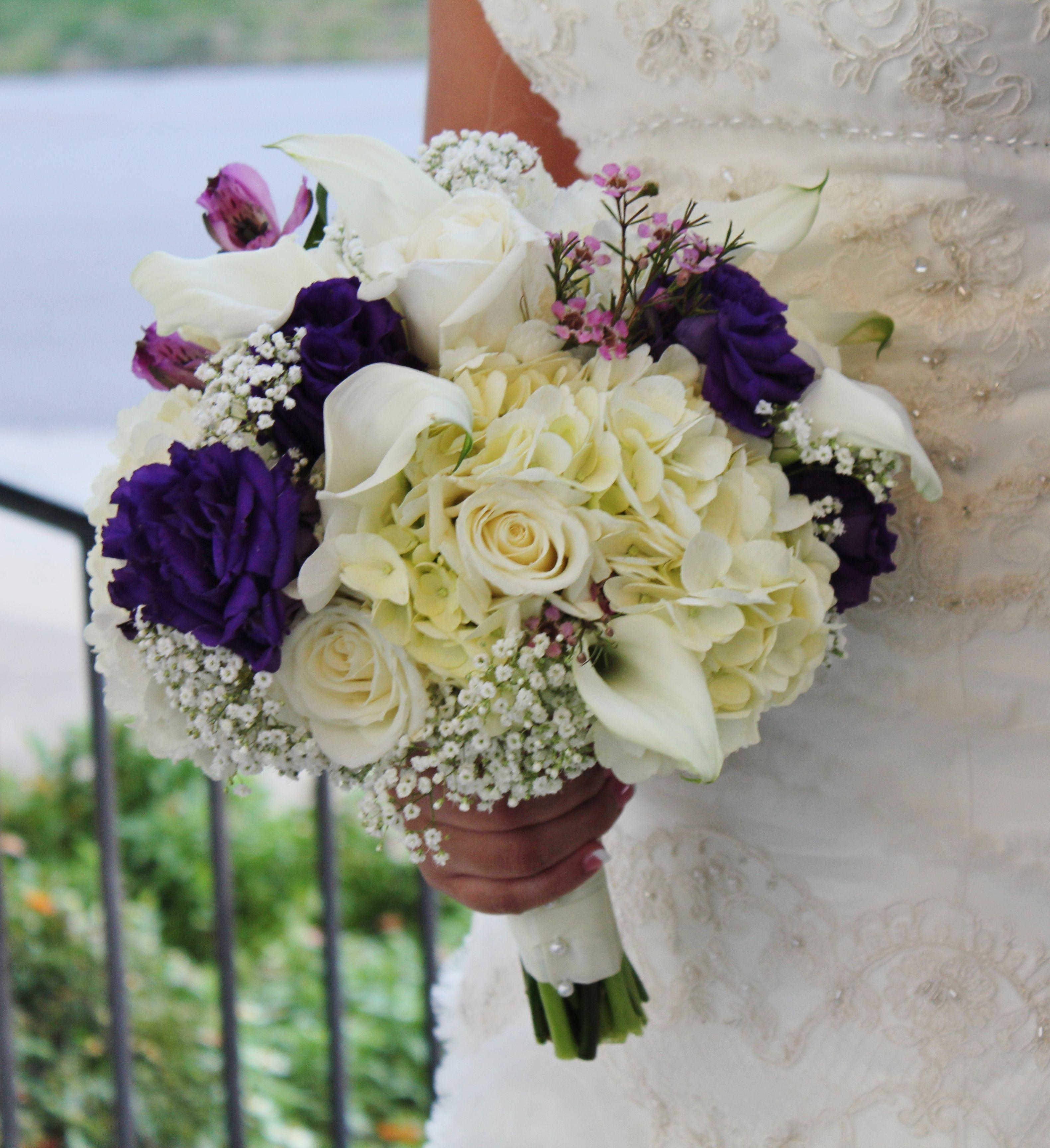 Purple and white by Rockwall Wedding Chapel rockwallchapel