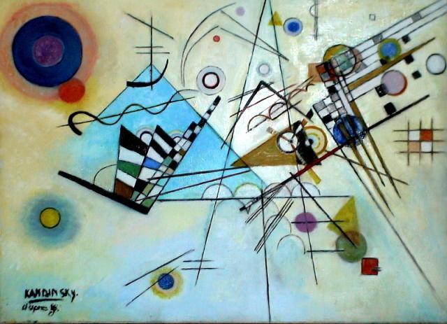 Kandinsky's Composition VIII Geometric | Etsen | Pinterest | Vs ...