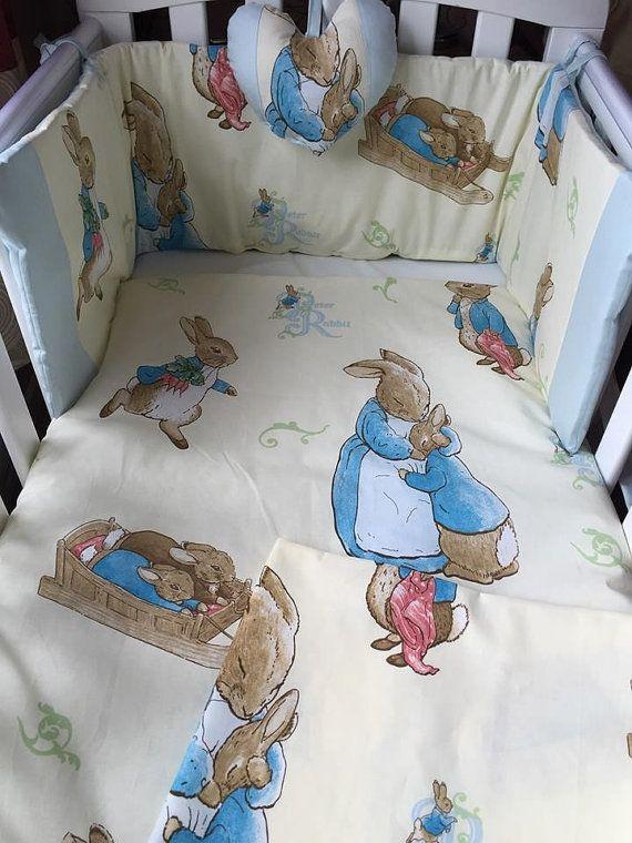 Ensemble De Literie Peter Rabbit Baby Cot Taille Par