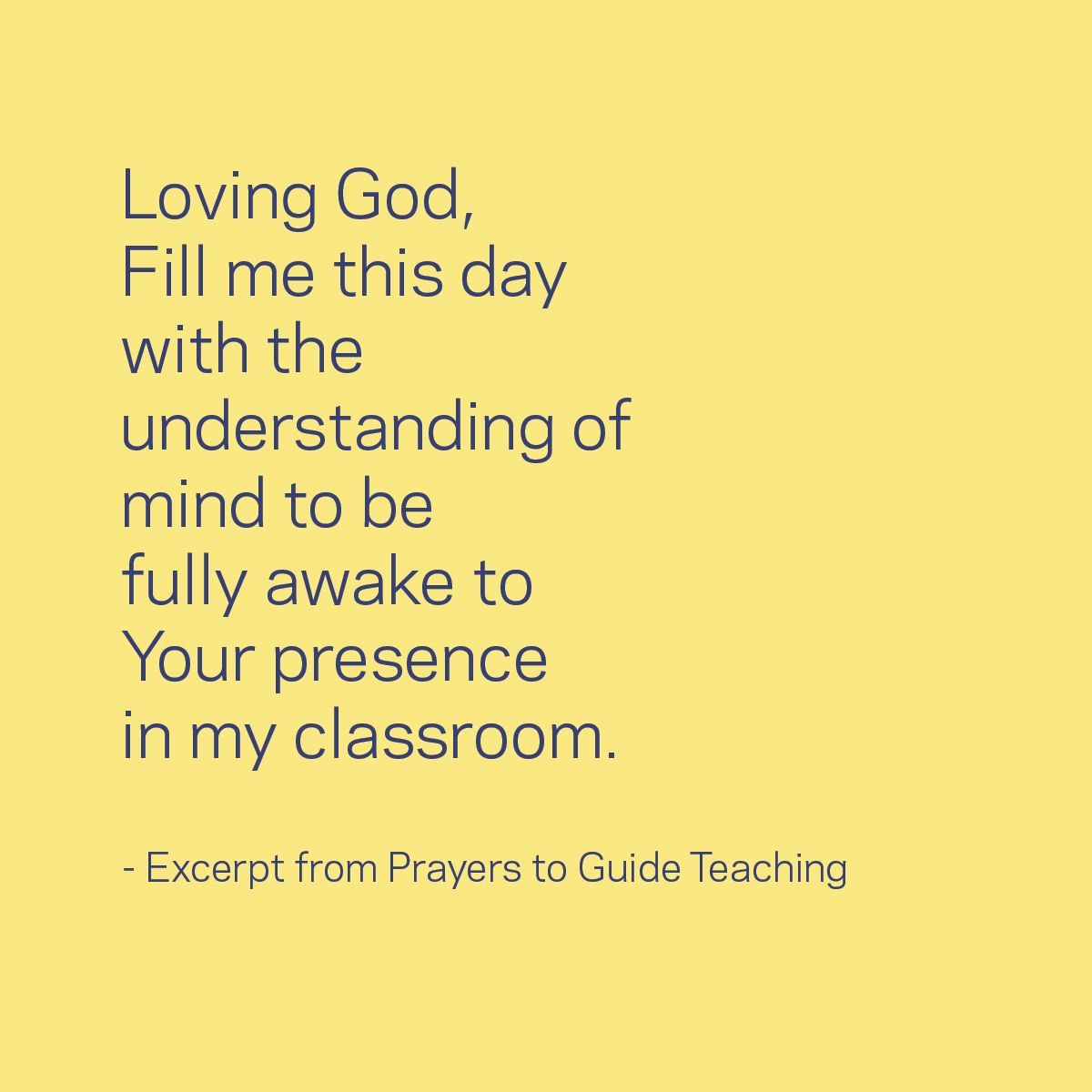Classroom Prayer Ideas : A morning prayer for teachers thankateacher classroom