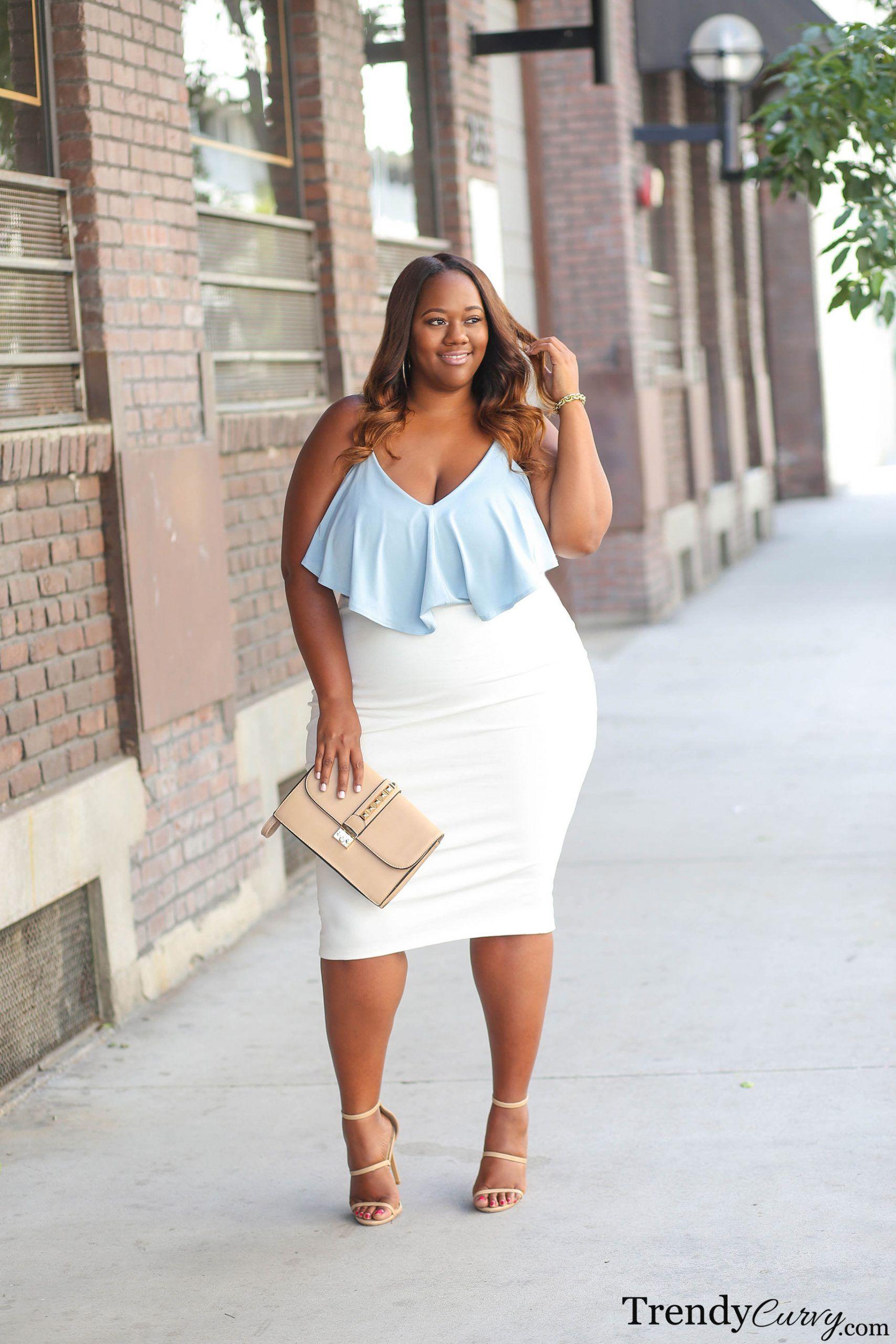 Summer Chic Trendy Curvy Flattering Plus Size Dresses Plus Size Fashion Plus Size Outfits [ 2560 x 1707 Pixel ]