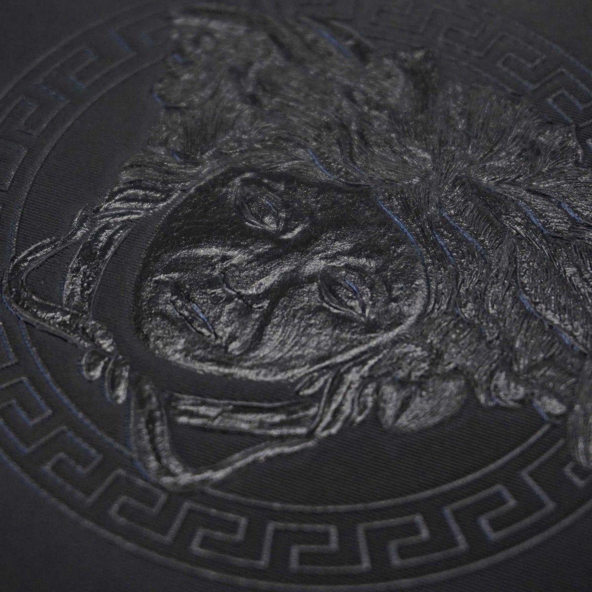 Versace Home Medusa Royale Black Luxury 70cm Wallpaper By As Creation 34862 2 Black Luxury Versace Home Versace