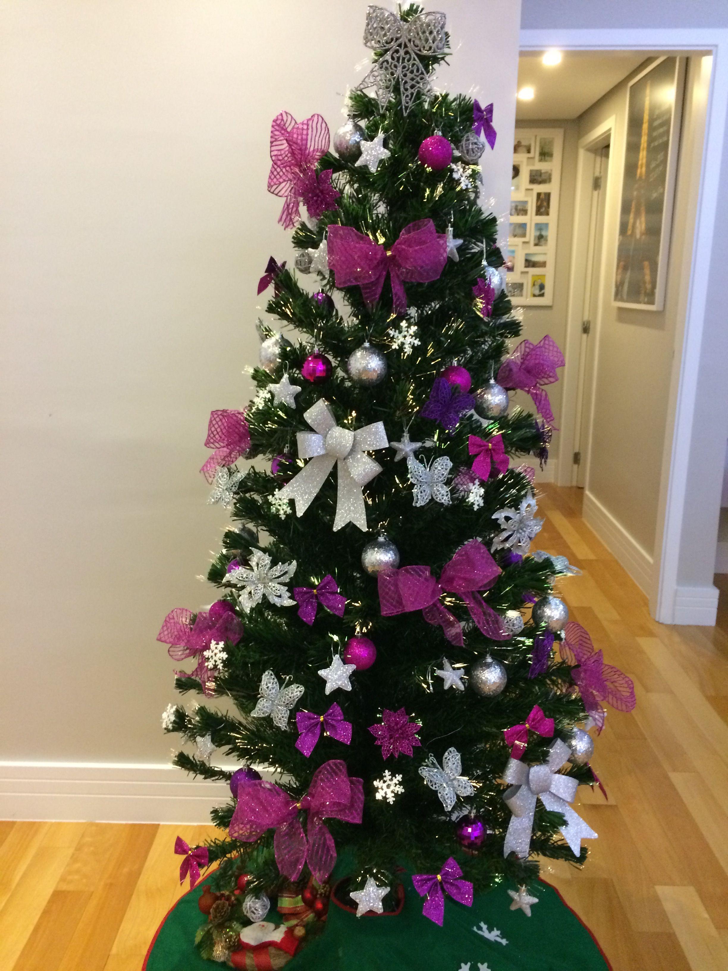 Arvore De Natal Rosa E Prata Arvore De Natal Rosa Rosa De Natal