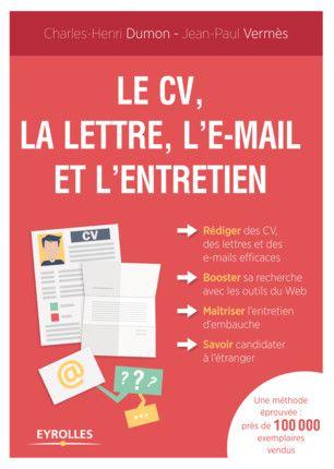 Epingle Sur Cv Et Lettres De Presentation