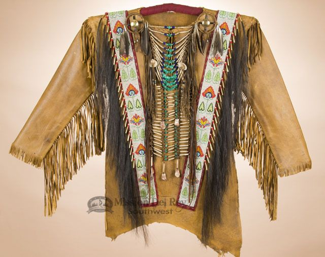This Is An Authentic Decorative Native American War Shirt