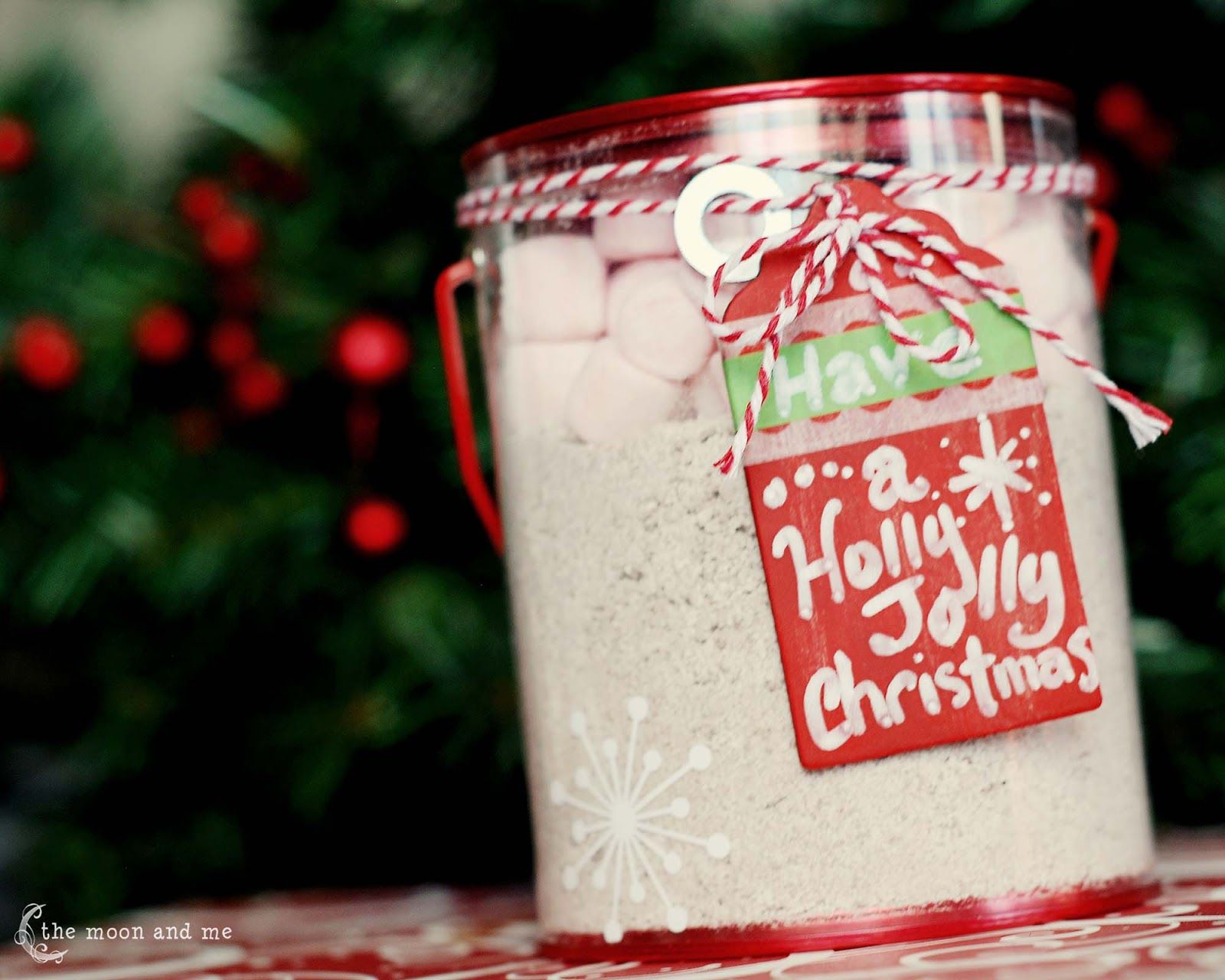 The Moon and Me: 3 Hot Drink Mixes for Giving {and Keeping!}
