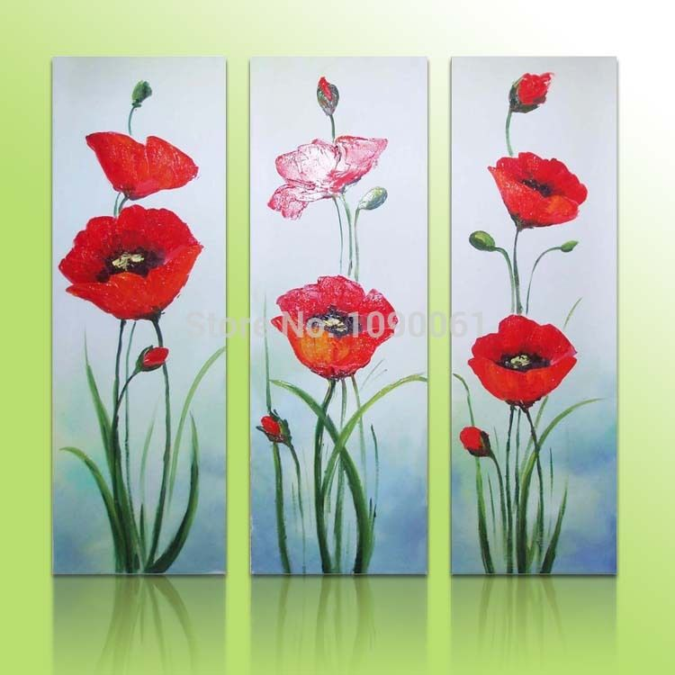Poppy flower painting acrylic el3223 1 el3223 2 floral pallet poppy flower painting acrylic el3223 1 el3223 2 mightylinksfo Image collections