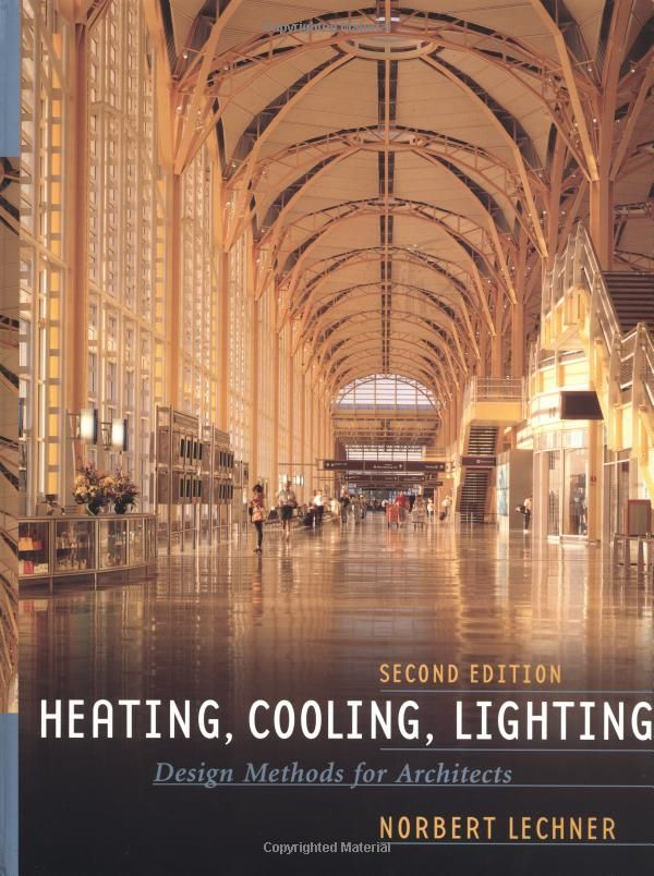 Http Www Amazon Com Heating Cooling Lighting Methods Architects