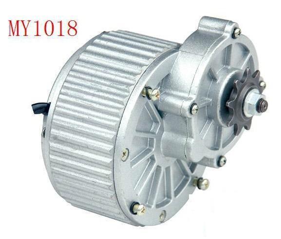 63.80$  Buy now - http://ali7k9.worldwells.pw/go.php?t=1803857630 - 450w DC 24 v powerful gear brush motor, DC gear brushed motor, Electric bicycle / electric tricycle motor, scooter motor MY1018 63.80$